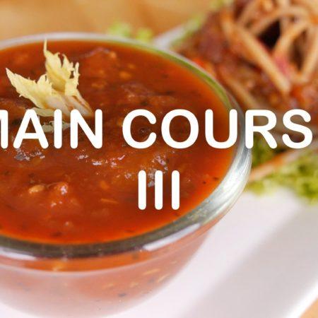 Main Course III