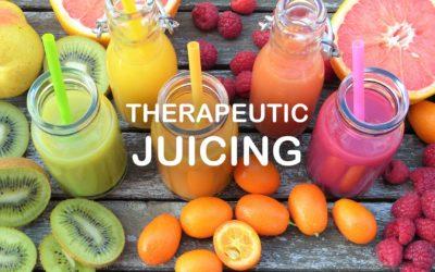 Therapeutic Juicing