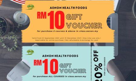 Aenon Health Class x Aenon Health Foods Promotion